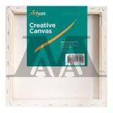 "Box of 20 12x12"" Thin Frame Stretched Blank Canvas Artvalli"