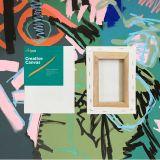 "Box of 60 6x8"" Thin Frame Stretched Blank Canvas Artvalli"
