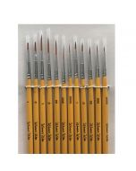 Warhol's Wife 12pc Detail Paint Brushes