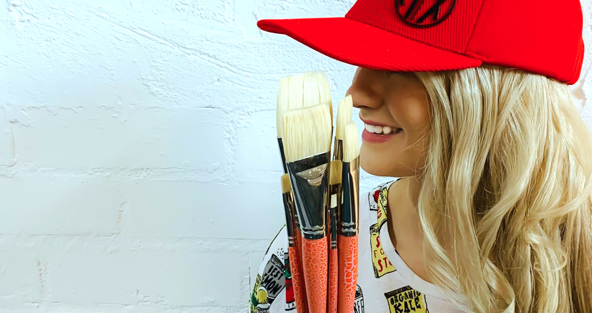 Interlocked Hog Hair Paintbrushes by Pro Hart Swagger