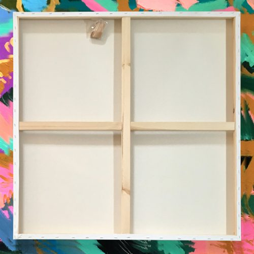 "Box of 5 30x30"" Studio Stretched Blank Canvas"