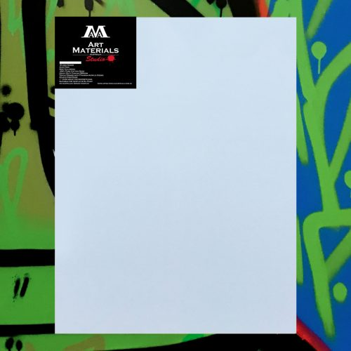 "Box of 5 30x40"" Studio Stretched Blank Canvases"