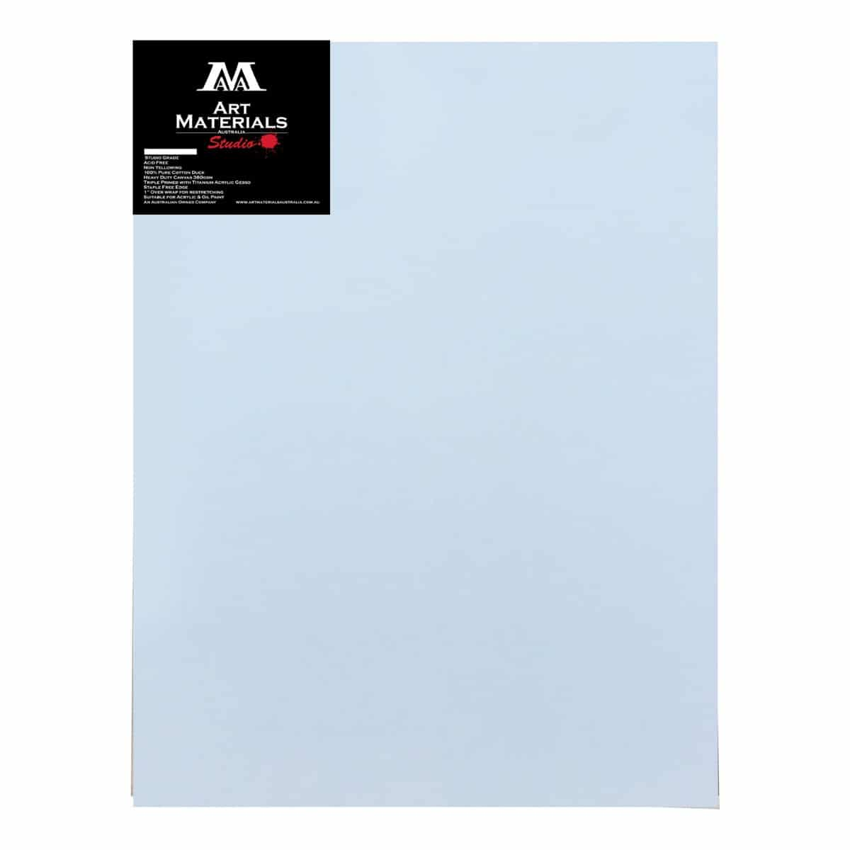 "Art Materials Australia Box of 5 30x40"" Studio Stretched Blank Canvases"