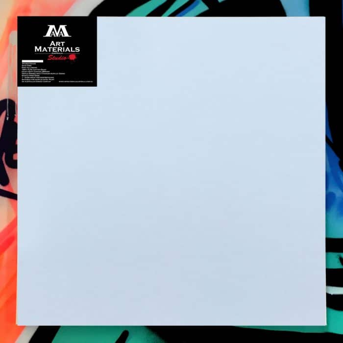 """Box of 5 36x36"""" Studio Stretched Blank Canvas"""