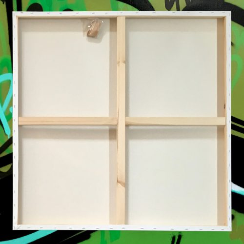 "Box of 5 36x36"" Studio Stretched Blank Canvas"