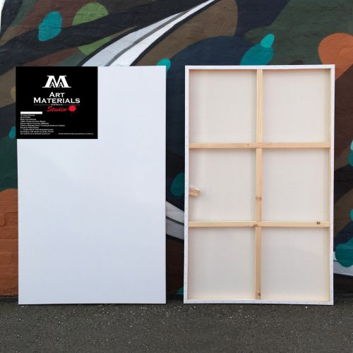 "Box of 5 36x60"" Studio Stretched Blank Canvases"
