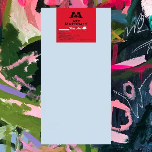 "Art Materials Australia Box of 5 40x78"" Fine Art Stretched Blank Canvas"