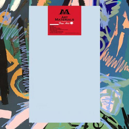 "Art Materials Australia Box of 5 48x78"" Fine Art Stretched Blank Canvas"