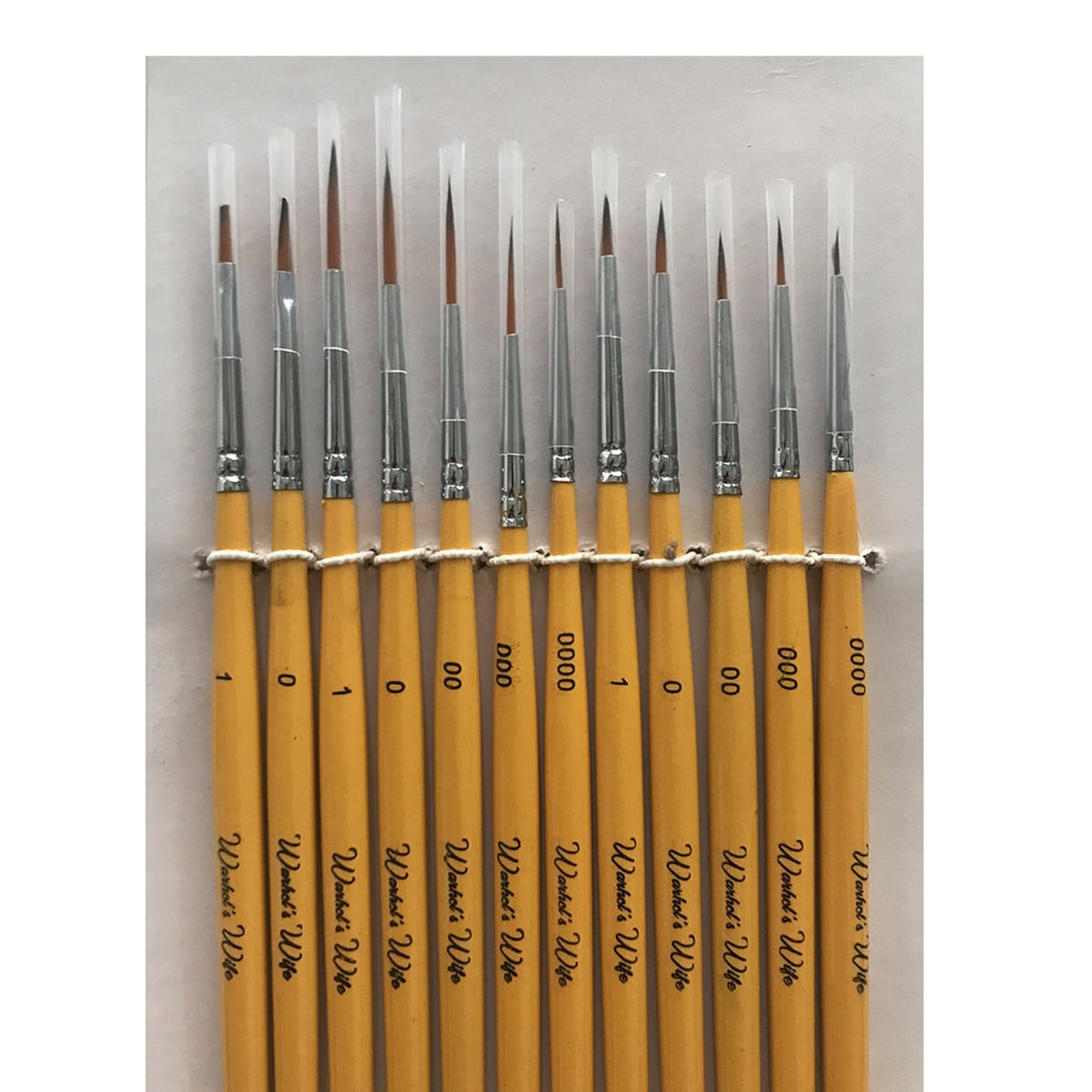Detail Paint Brushes Warhol's Wife 12pc
