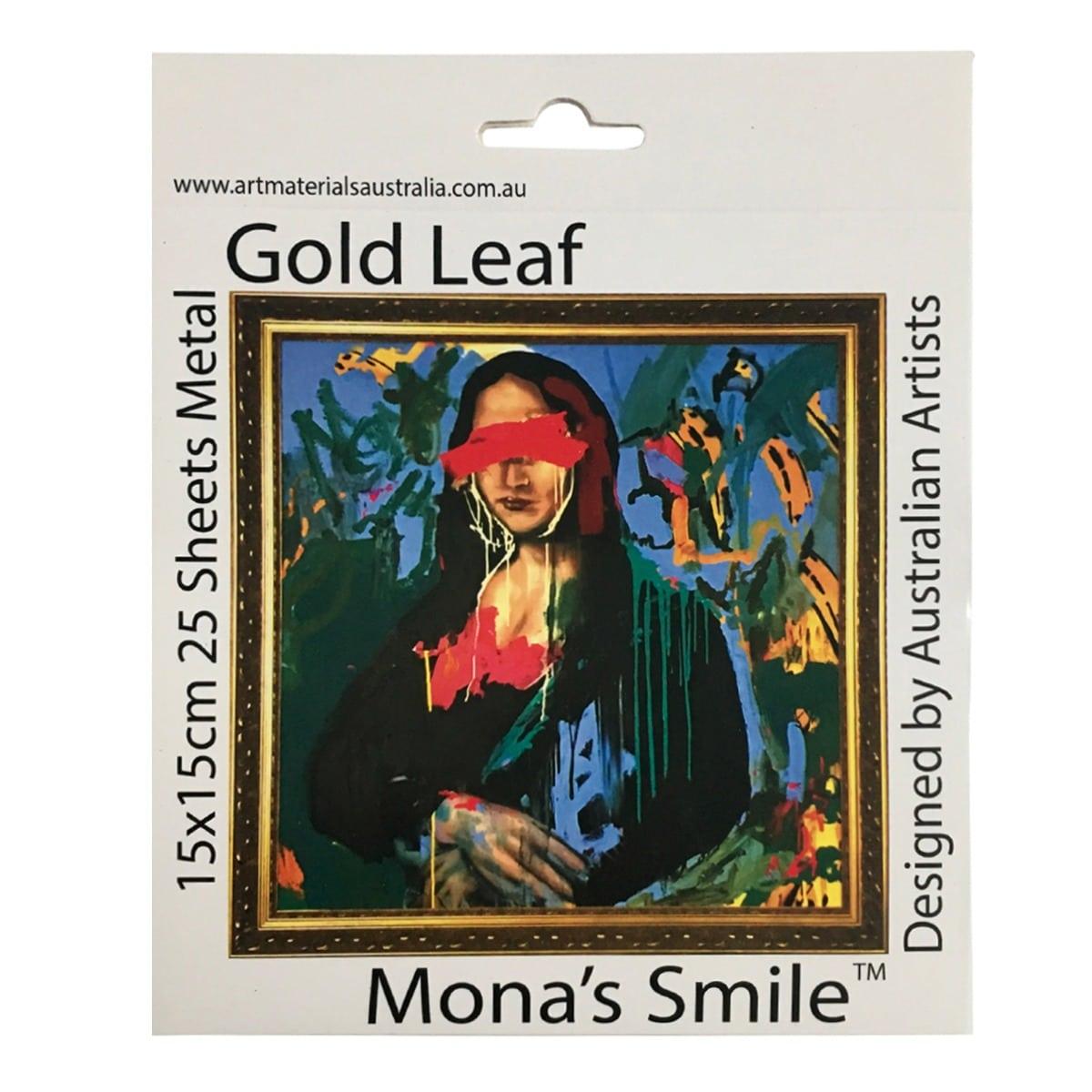 Gold Leaf Sheets Mona's Smile