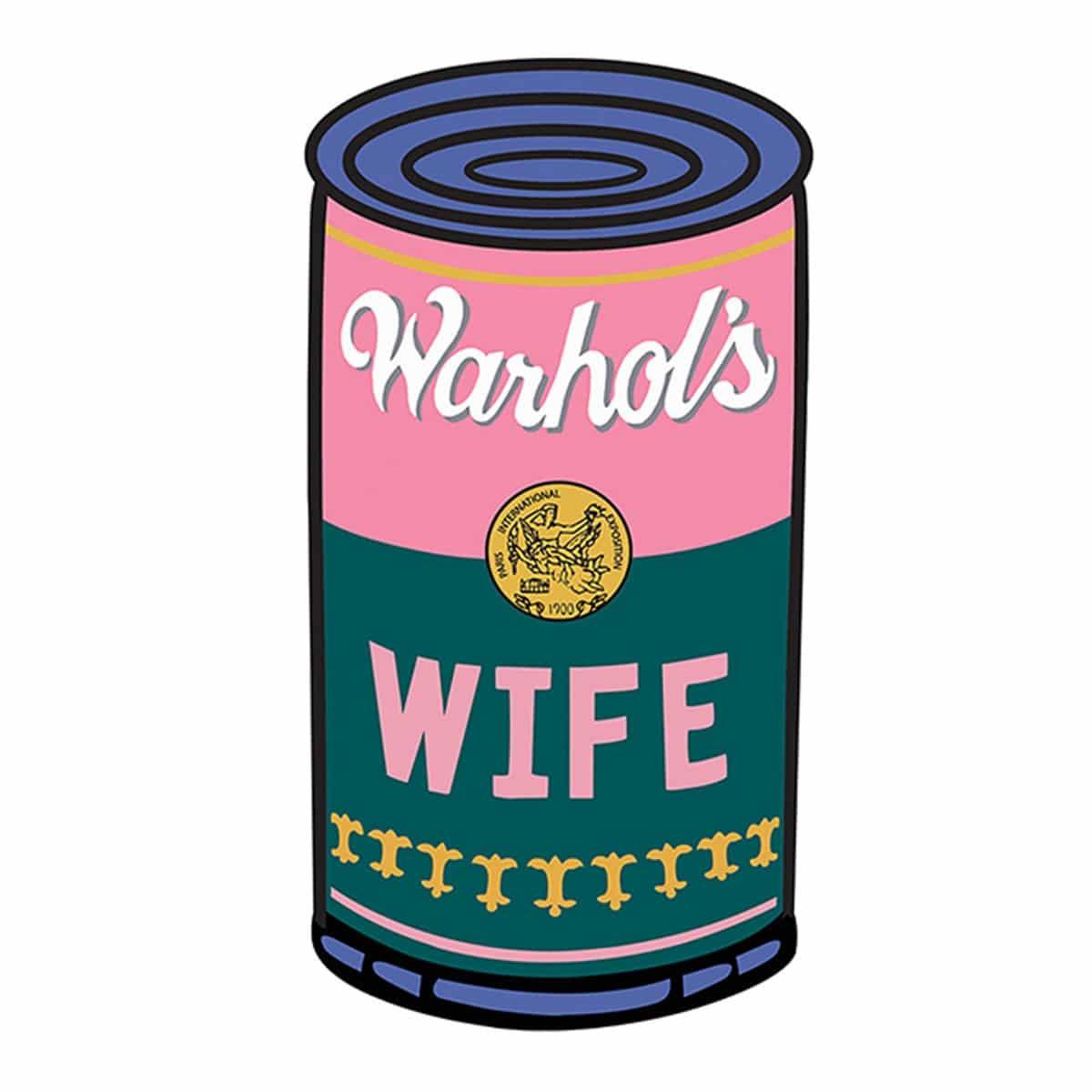 Warhol's Wife Logo