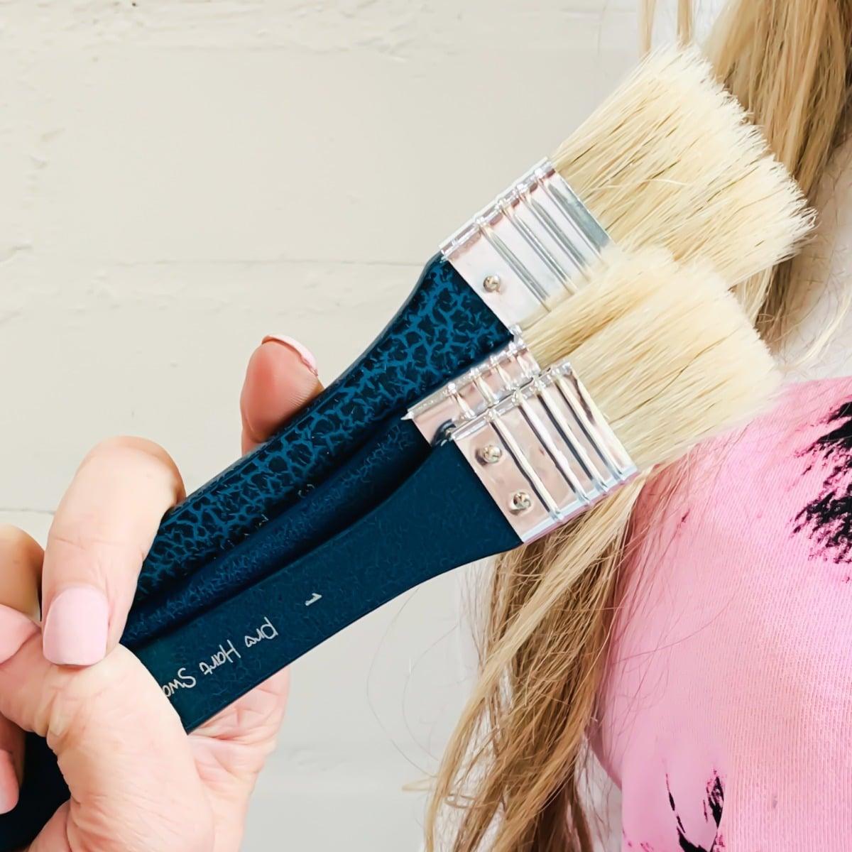 "Pro Hart Swagger Hog Hair 1"" 2"" & 3"" Hog Hair Paintbrushes"