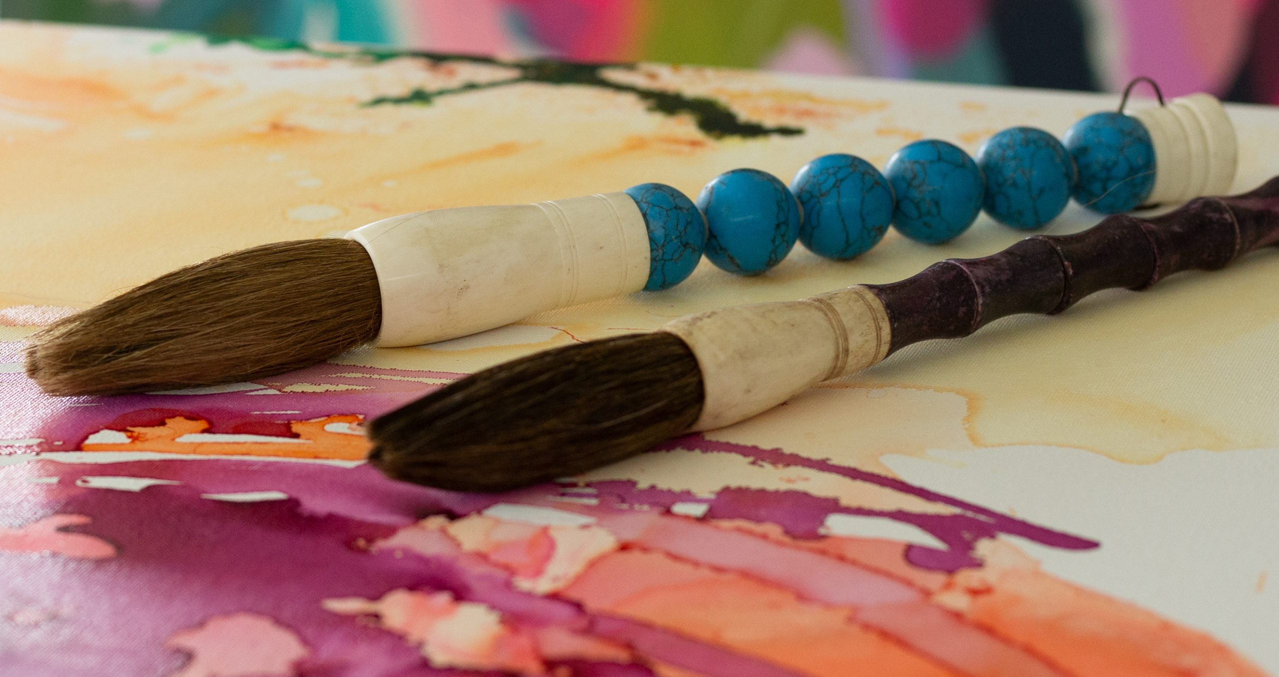 The Zen Paint Brushes by Pro Hart Swagger