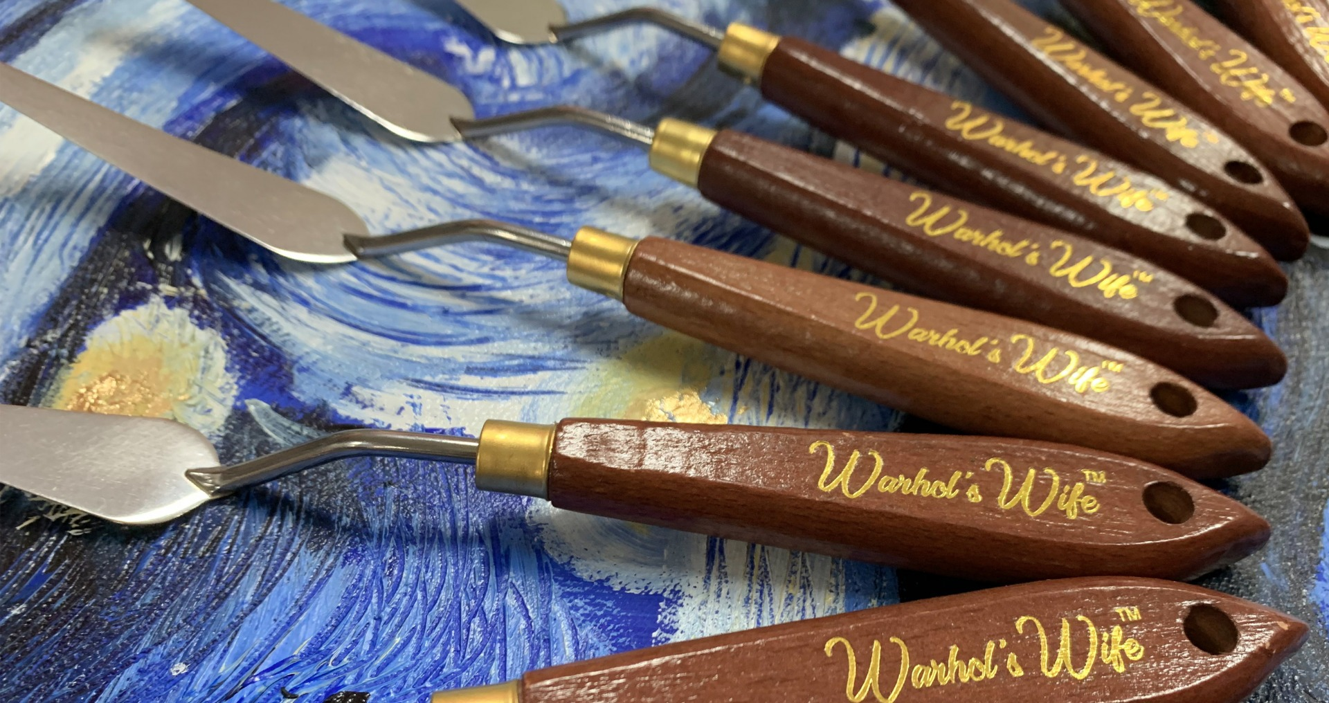 Warhol's Wife Palette Knife Set