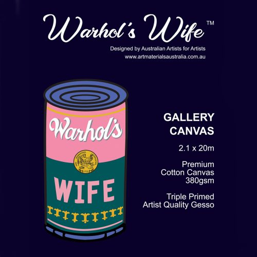 Canvas Rolls Warhol's Wife