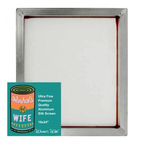 18x24 Silk Screen by Warhol's Wife Art Materials Australia