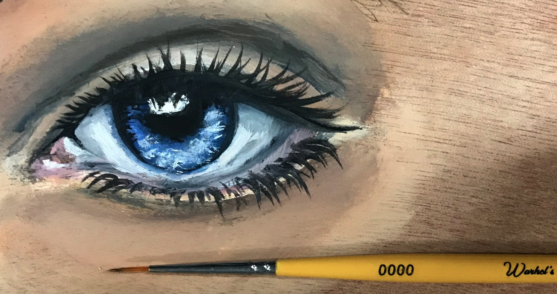 Detail paint brushes art supplies at Art Materials Australia