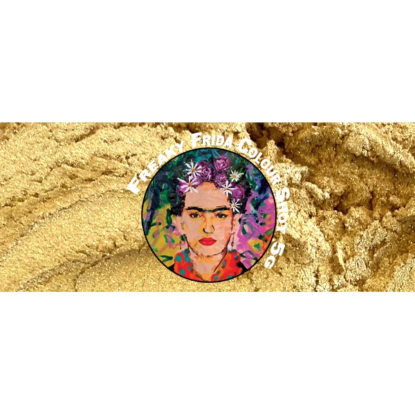 Rich Gold Pigment Freaky Frida Colour Shot