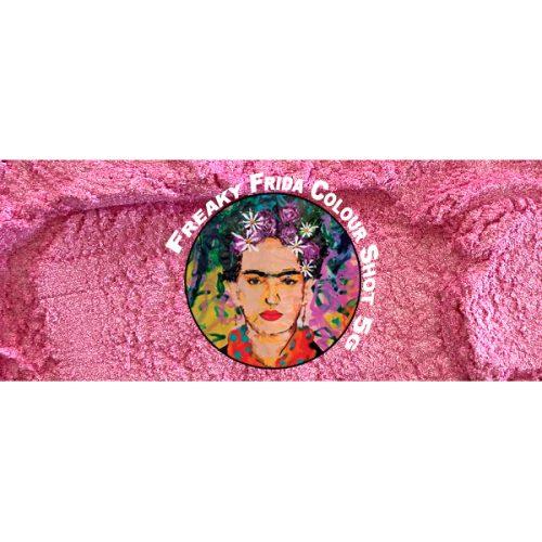 Metallic Pink Pigment Freaky Frida Colour Shot