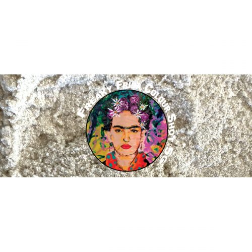 White Pigment Ice Ice Baby by Freaky Frida