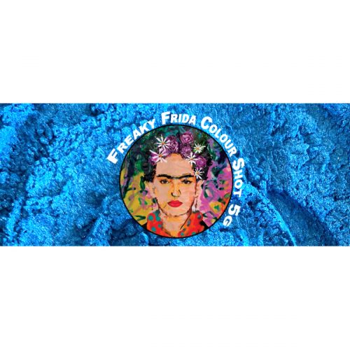 Blue Pigment Powder Freaky Frida Colour Shot