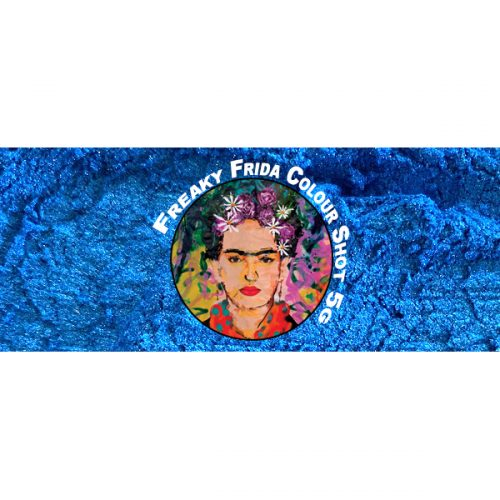 Blue Pigment Freaky Frida Colour Shot Pigment