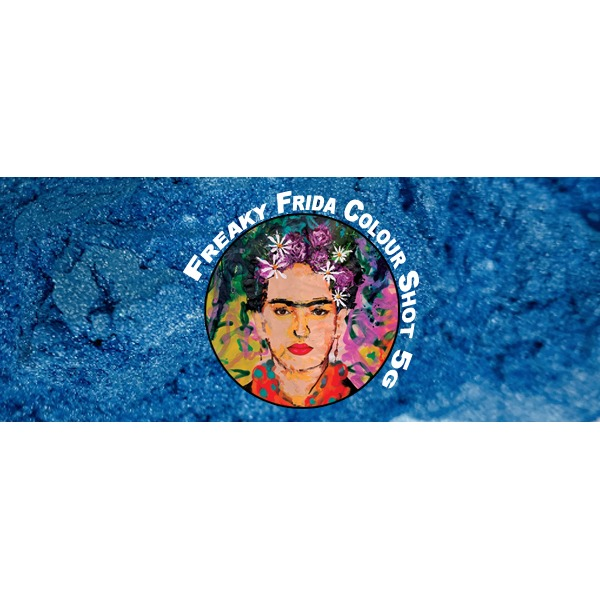 Light Blue Pigment Freaky Frida Colour Shot