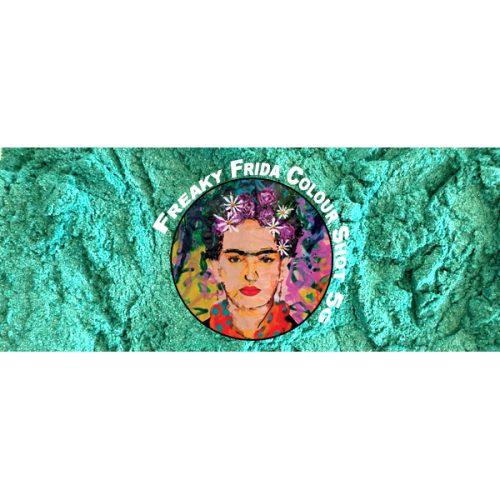 Metallic Green Pigment Freaky Frida Colour Shot