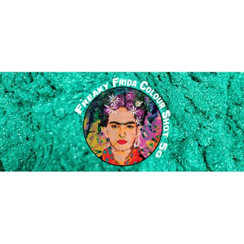 Iridescent Green Pigment Powder Freaky Frida Colour Shot