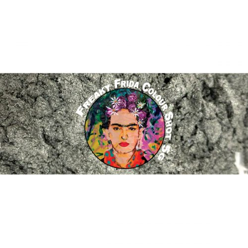 Metallic Silver Pigment Freaky Frida Colour Shot