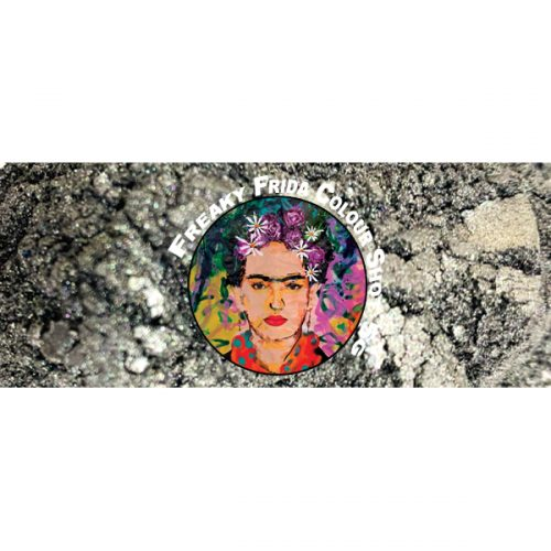 Silver Powdered Pigment Freaky Frida Colour Shot Pigment