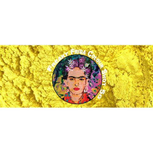 Yellow Pigment by Freaky Frida Art Materials Australia