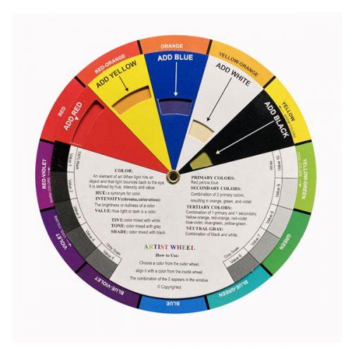 Colour Wheel by Mona's Smile