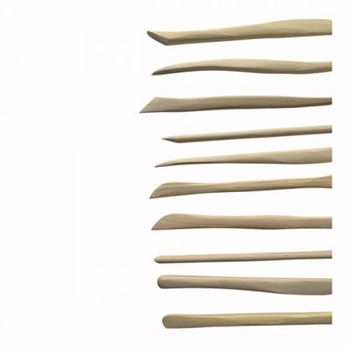 Wooden Clay Tools Art Materials Australia
