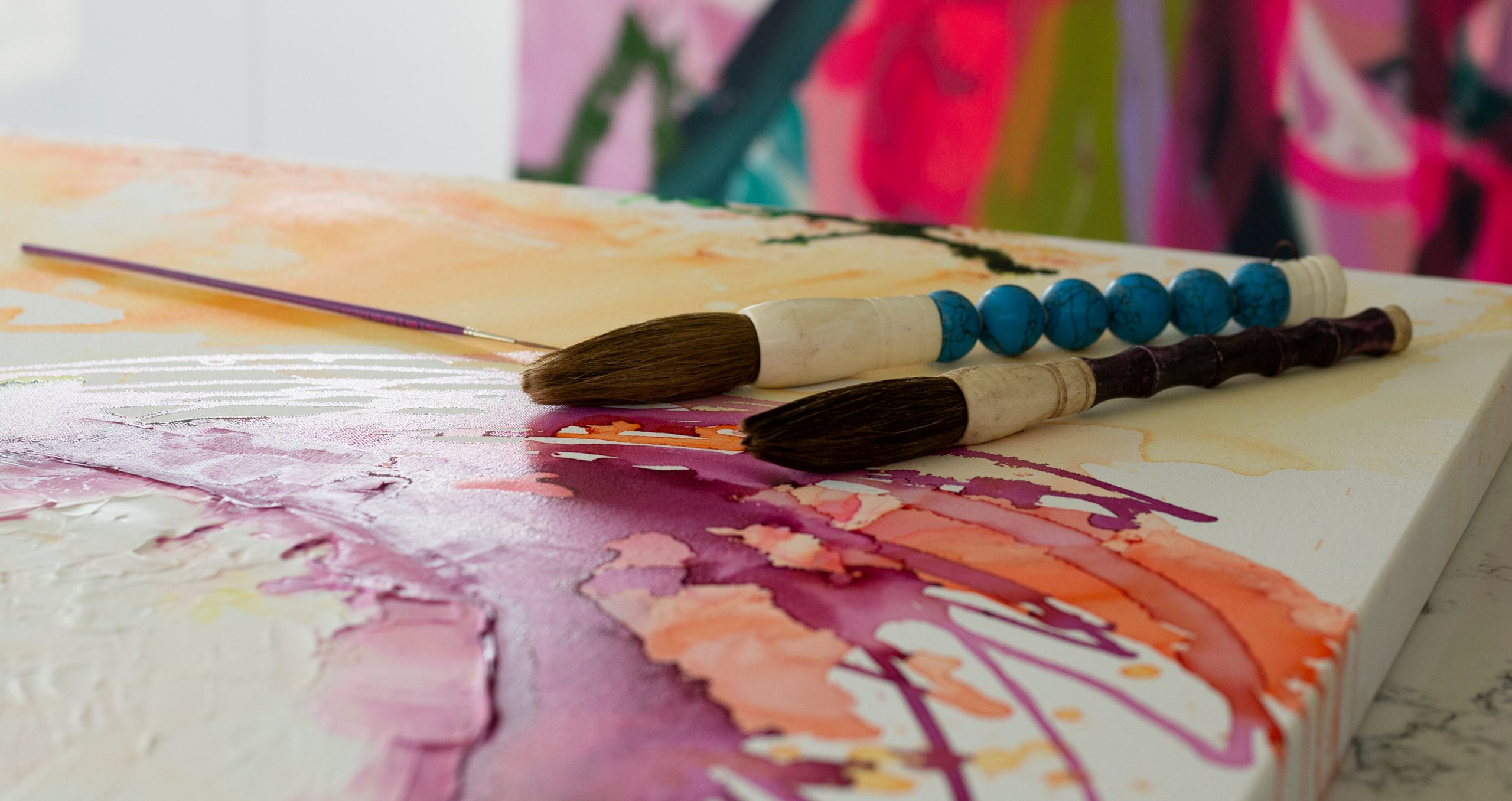 Big paintbrushes the Zen by Pro Hart Swagger
