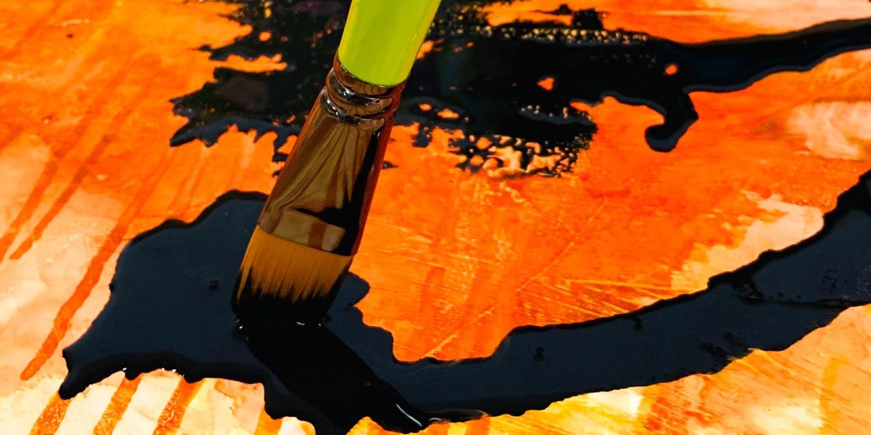 Black Sumi ink Art Materials Australia