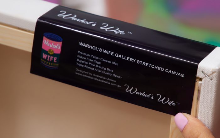 Artist Canvases Warhol's Wife Art Materials Australia