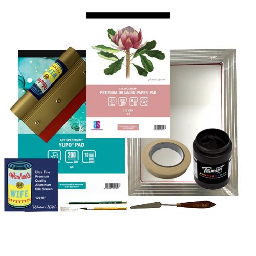 Beginner Printmaking Kit Art Materials Australia