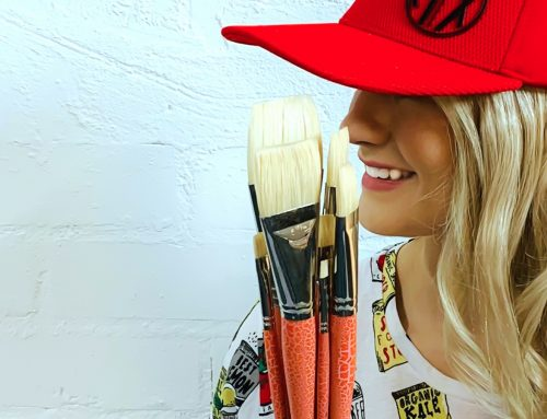 The PRO HART SWAGGER Handmade Chungking Flat ARTIST Paint Brushes