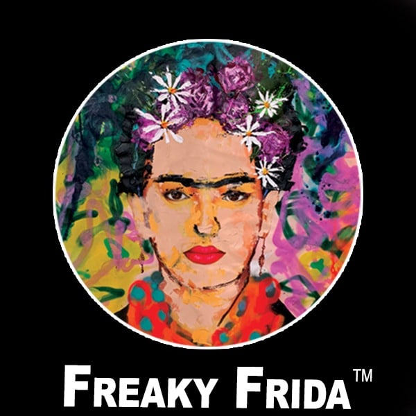 Freaky Frida Trade Mark 4x4 150dpi