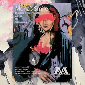 Paper palettes by Mona's Smile Art Materials Australia