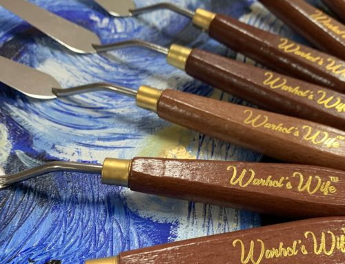 9pc Palette Knife Set Warhol's Wife