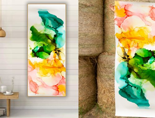 Create your masterpiece with Freaky Frida Alcohol Painting Inks