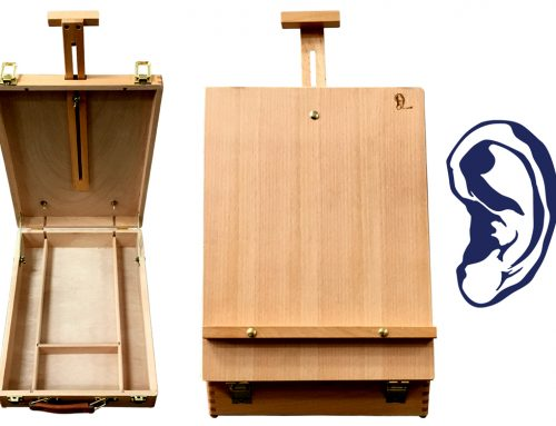 Van Gogh's Ear Woodshed the Best Travel Box Easel