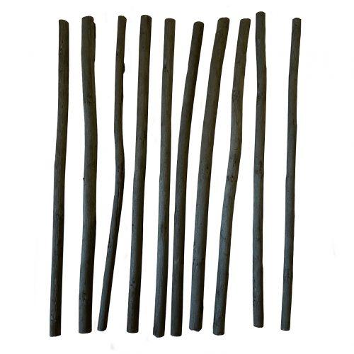 Charcoal sticks art supplies 3-6mm pieces