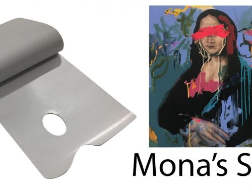 Mona's Smile Paper Palette Designed by Australian Artists