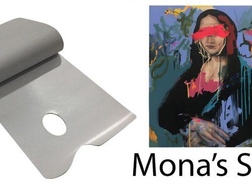 Mona's Smile Paper Palette Designed by Australian Artists