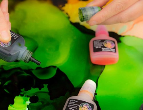 Alcohol Painting Inks the Art of Easy Painting