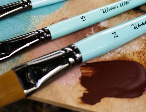 The Magic of a Filbert Paint Brush by Warhol's Wife