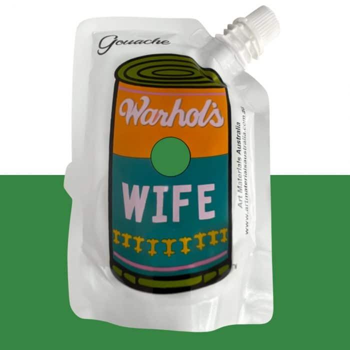 Grass Green Gouache Paint Warhol's Wife